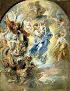 The Virgin as the Woman of the Apocalypse, by Peter Paul Rubens