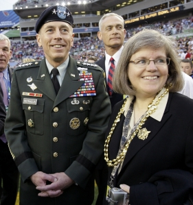 David and Holly Petraeus