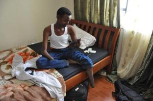 Ismail Khalif Abdulle in Nairobi, Kenya