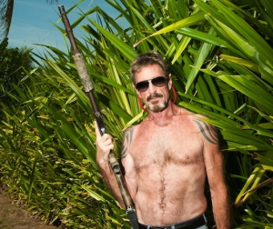 John McAfee in Belize