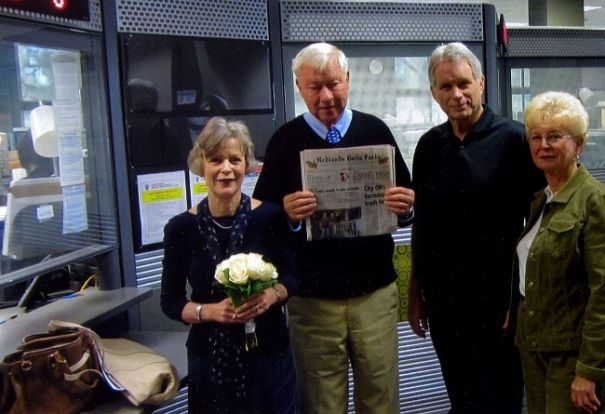 Bob and Norma Clark celebrate their wedding 48 years later