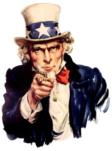 Uncle Sam as a personification of the United States