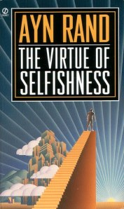The Virtue of Selfishness, by Ayn Rand, Signet Edition book cover