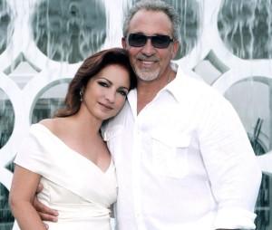 Gloria and Emilio Estefan (Photo credit: Jesus Carrero)