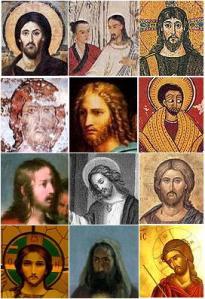Jesus depicted as being of various races