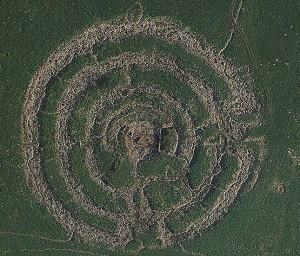 "Gilgal Refaim (""circle of ghosts"" or ""circle of giants""); or Rujm el-Hiri (""stone heap of the wild cat"")"