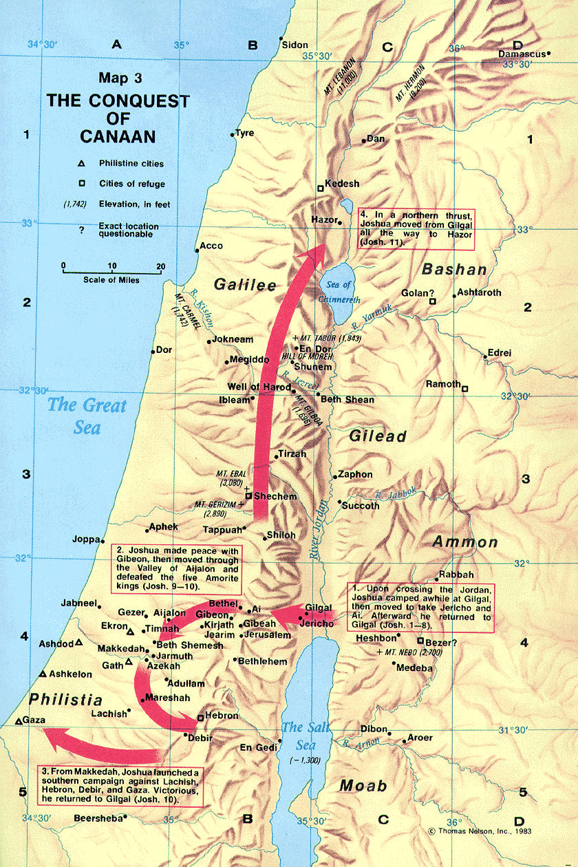 What Is The Meaning And Significance Of Gilgal In The Bible - World map jordan river