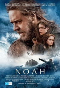 Noah Movie Poster, for the 2014 Darren Aronofsky movie