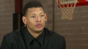 Isaiah Austin in an interview about his Marfan syndrome diagnosis