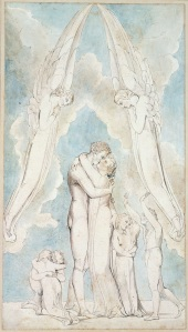 The Meeting of a Family in Heaven, by William Blake