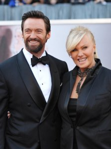 Hugh Jackman with his wife Deborra-Lee Furness