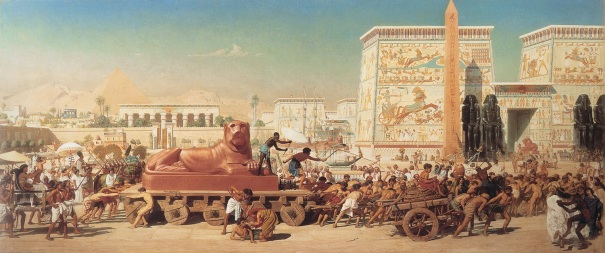 Israel in Egypt, by Edward Poynter, 1867