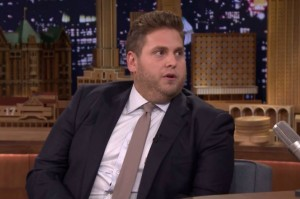Jonah Hill apologizing on The Tonight Show