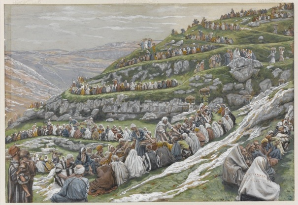 The Miracle of the Loaves and Fishes, by James Tissot
