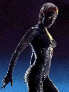 Rebecca Romijn as Mystique in X-Men
