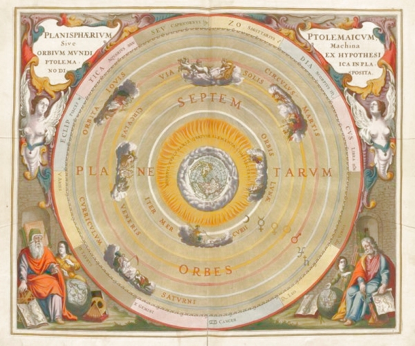 The Aristotelian Universe in a Ptolemaic Model