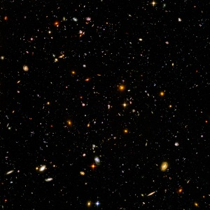Galaxies in space - Hubble Space Telescope