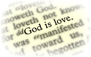 God is love - 1 John 4:8