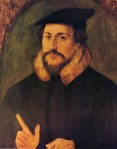 John Calvin, by Hans Holbein the Younger