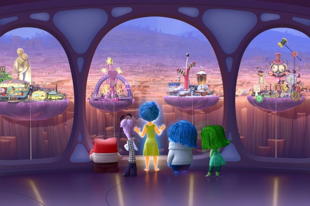 Pixar's Inside Out: Personality Islands