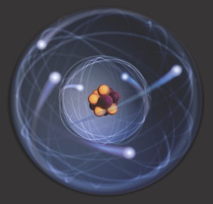 Diagram of an atom