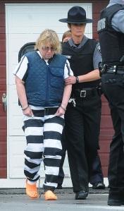 Joyce Mitchell in prison garb