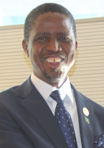 Edgar Lungu, President of Zambia, January 2015