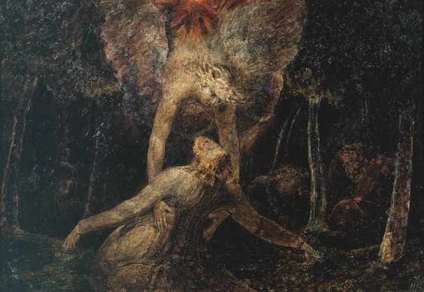 The Agony in the Garden, by William Blake (1757-1827)