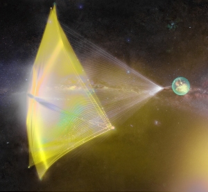 Breakthrough Starshot concept art