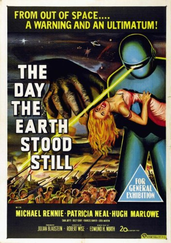 The Day the Earth Stood Still - 1951 movie poster