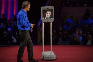 "Edward Snowden via ""Snowbot"""
