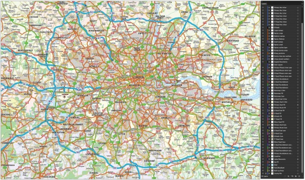 Greater London: Yes, you need a road map