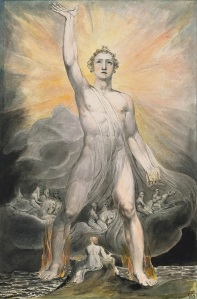 The Angel of Revelation, by William Blake, 1803