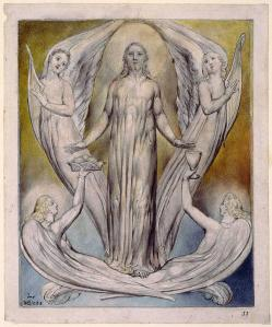 Angels Ministering to Christ, by William Blake, 1820