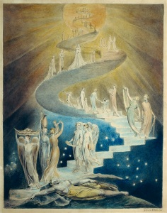 Jacob's Dream, by William Blake, 1805