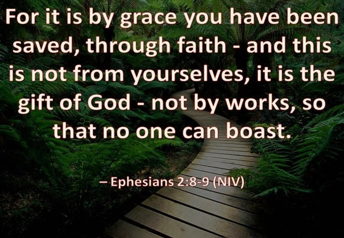 Image result for EPHESIANS 2:8-9 CATHOLIC