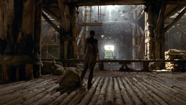 Noah's Ark interior scene