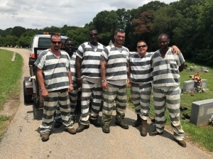 The six Polk County inmates who saved their deputy