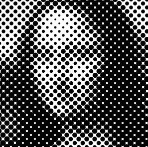Halftone Mona Lisa