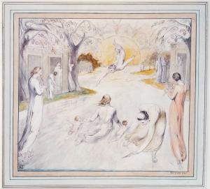 The River of Life c.1805 by William Blake 1757-1827