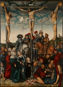 "Lucas Cranach, ""The Crucifixion,"" 1532"