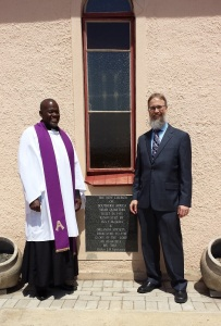 At the headquarters of the New Church of Southern Africa, 6504 Mooki St., Orlando East, Soweto, Johannesburg