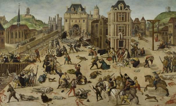 St. Bartholomew's Day Massacre, by François Dubois